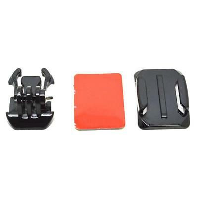 3 in 1 Pack Accessories Kit Curved Base Mount for GoPro Hero Action Camera