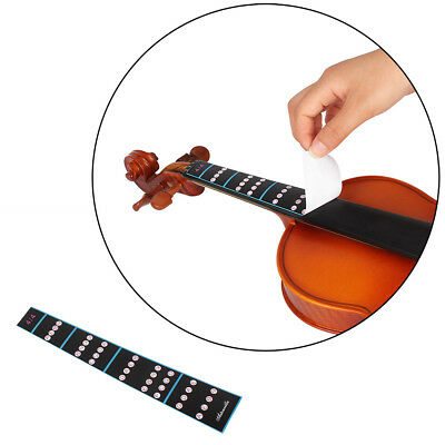 Fingerboard Sticker Guide Fretboard Marker for 4/4 Violin Fiddle Finger Parts