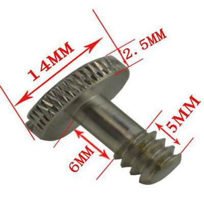 1/4 inch Metal Camera Mounting Screw for Tripod Monopod Quick Release Plate