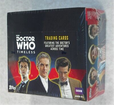 Topps Doctor Who Timeless Trading Cards 16 Pack Box New & Sealed