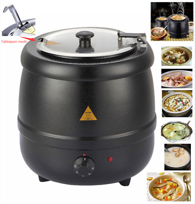 Soup warmer heater urn kettle 10L commercial catering Kitchen food gravy &soup