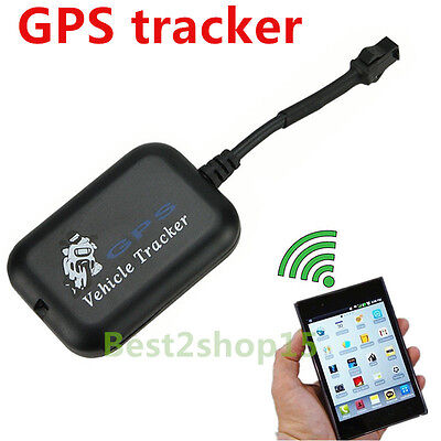 Portable GPS GPRS Tracker SMS Network Bike Car Motorcycle Monitor GPS Locator HT