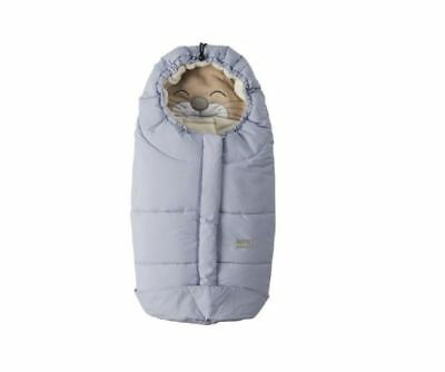 Nuvita Ovetto Cuccioli Footmuff - Soft Blue Cat