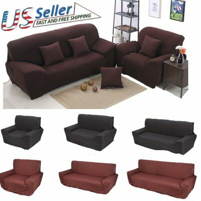 Sofa Covers Shape Polyester Fabric Stretch Slipcovers for Sectional sofa LOT BE2