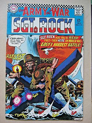 Our Army at War featuring Sgt. Rock #173 1966 Comic Book