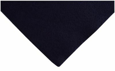 Navy Blue Acrylic Felt A4 Sheet 23cm x 30cm Toys Craft Factory AF01/12