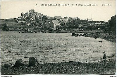 CPA - Carte postale-  France -  Ile de Bréhat - Village de Not Goven (CPV504)