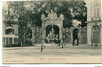 CPA - Carte postale -  FRANCE -  Nancy - Fontaine d'Amphitrite (CPV528)