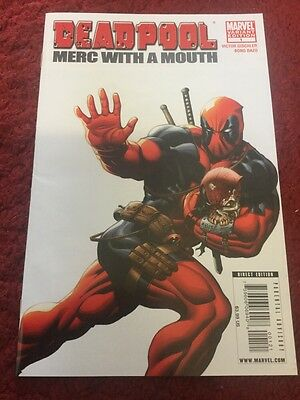 Deadpool : Merc With A Mouth #1 Marvel Comic Vfn