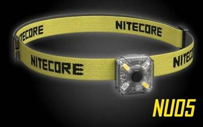 Nitecore NU05 35 Lumen White and Red USB Rechargeable Headlamp
