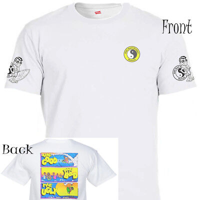 """T&C,Town and Country Hawaii,""""Good,Bad,Ugly"""" T-Shirt, All Sizes S-5XL, T-1259Wht"""