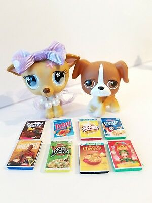 Littlest pet shop lps accessory lot 3 custom accessories littlest pet shop lot of 12 custom cereal lps random accessories grocery food ccuart Choice Image