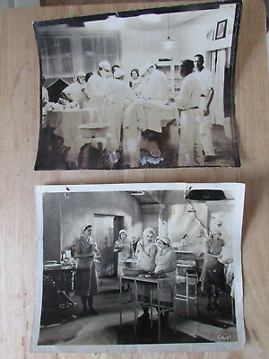 1930's REAL 8x10 Pics MEDICAL OPERATING Room - LIKE One FEW OVER The COOKOO Nest