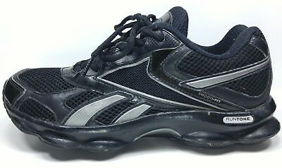 bd56ad94a0d07c Reebok RunTone Athletic Black   Silver Sneakers Women s Running shoes Size 7