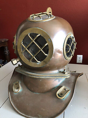 Authentic Russian Three Bolt Diving Helmet