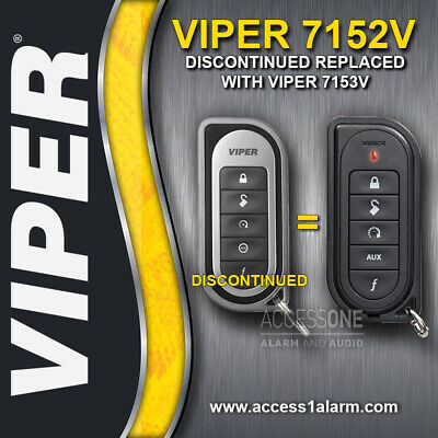 Viper 7152V 1-Way 5-Button Replacement Remote Control Transmitter For 4204V