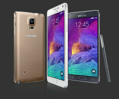 Samsung Galaxy Note 4 32GB SM-N910 GSM Unlocked Smartphone Refurbished S PEN 4G