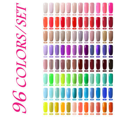 BELLE FILLE Colorful Series UV Gel Soak Off Nail Polish UV LED Lacquer Manicure
