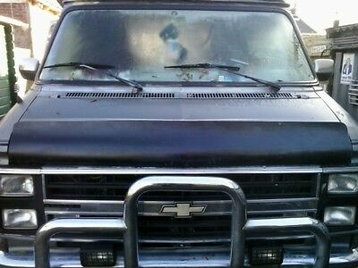 Bug Shield, Wind deflector Chevrolet G20, Chevy van, GMC Vandura
