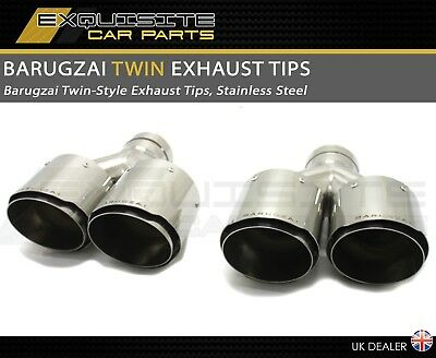 Barugzai Design Exhaust Tips Twin Style High Quality Svr Svo Sport Vogue Svo