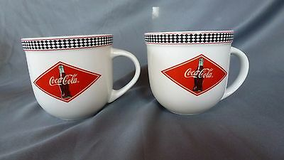 2003 COCA COLA COLLECTOR'S COFFEE MUG CUP BY GIBSON - Lot of 2