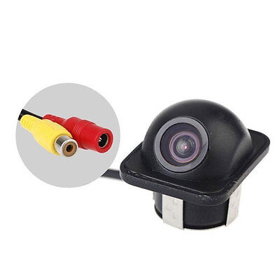New 12V 170°Mini Color Reverse Backup Car Rear View Camera Night Vision