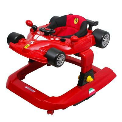 NEW Ferrari Licensed 5-in-1 Deluxe Baby Walker Play Centre