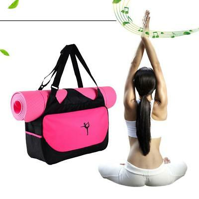 Yoga Mat Bag Women Multi-functional Sports Clothes Backpack Storage Accessory