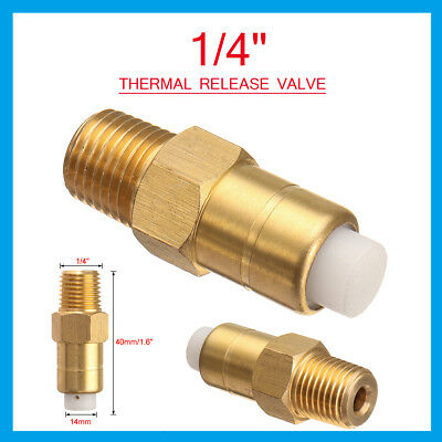 1/4'' Thermal Release Relief Valve for Air Compressor Pressure Washer Water Pump