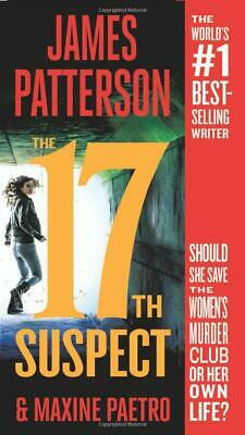 Women's Murder Club: 17th Suspect by James Patterson (2019, Paperback)