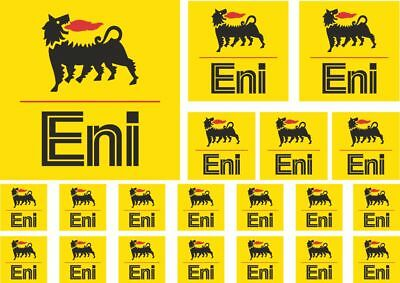 ENI Decals Quality Stickers Vinyl Graphic Set Logo Adhesive Kit 20 Pcs