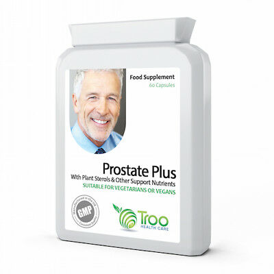 Prostate Plus 60 Capsules - Advanced Healthy Supplement to Support Prostate