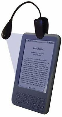 Universal Clip on LED Light Lamp for Amazon Kindle / Fire / Noble Nook & more