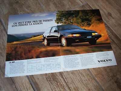 Publicité magazine /  Advertising AD  VOLVO 480 ES  //