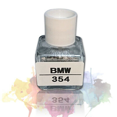 Pick Your Color BMW Touch Up Paint Brush Code 354 Titanium Silver Metallic