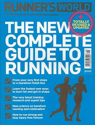 RUNNER'S WORLD - The New Complete Guide to Running (Paperback) BRAND NEW book