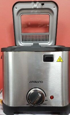 Mini Fryer 1.5 litres 800-900 w suitable for small kitchens
