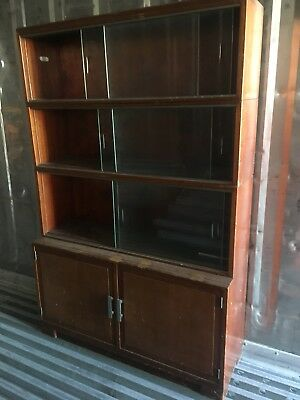 Vintage 1950's Minty of Oxford Sectional Bookcase