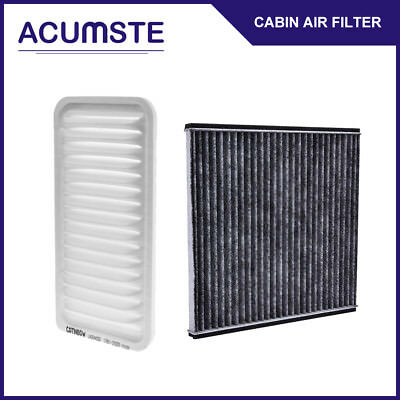 Combo Set Cabin Air filter & Engine Air filter for Toyota Corolla Matrix 03-08