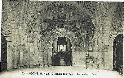 CPA - Carte postale -France- LOCHES - Collégiale Saint Ours (iv 824)
