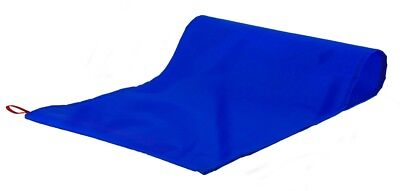 Reusable Slide Sheet Transfer aid Mobility Patient Movement - Blue 122cm x 71cm
