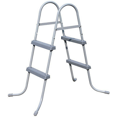 BESTWAY FLOWCLEAR 33 inch ABOVE GROUND METAL FRAME SWIMMING POOL ...