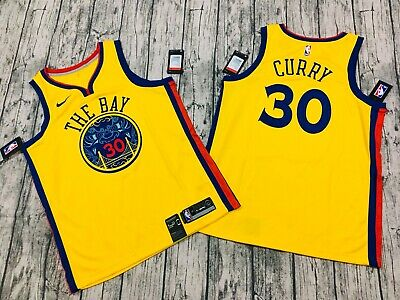 pretty nice 72906 19da6 NWT STEPHEN CURRY Golden State Warriors City edition jersey Nike 48