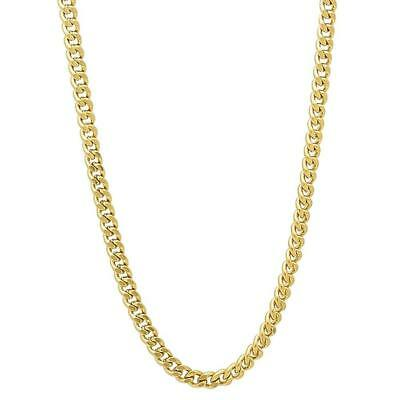 2d081034b777c BLING GOLD plated 3mm 16in long rope chain hip hop necklace dress ...