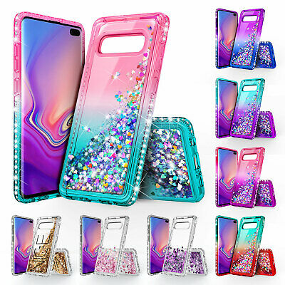 For Samsung Galaxy Note 9 Note 8 S9 S9 Plus Case | Glitter Liquid Bling Cover