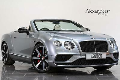 2017 Bentley Continental GTC 4.0 V8 S Mulliner Auto Petrol grey Automatic