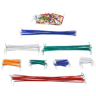 BU_ 140Pcs Male To Male Lines Solderless Breadboard Jumper Cable Wires Welcome