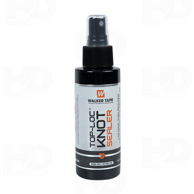 WALKER Top Loc Knot Sealer Spray 4 oz - Wig, Toupee, Lace Hairpiece, Hair System