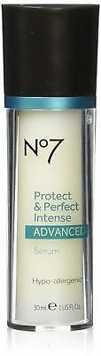 Boots No7 Protect and Perfect Intense Facial Serum 1 Ounce Bottle