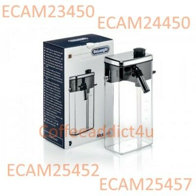 Delonghi Coffee Machine Milk Jug ECAM23450 ECAM24450 ECAM25452 ECAM25457 Models